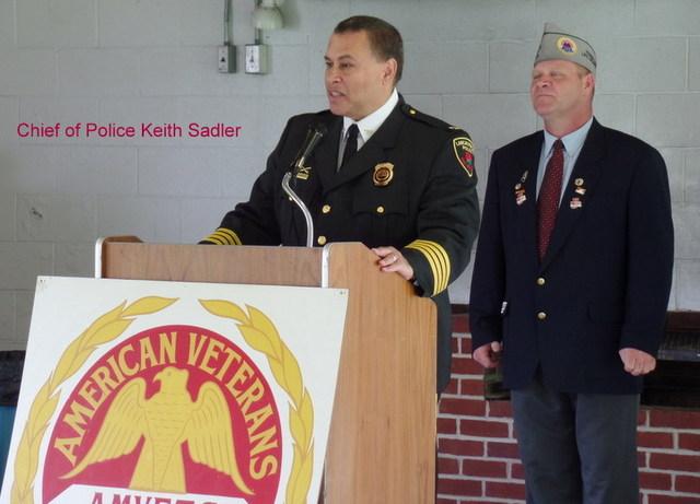 Chief of Police Keith Sadler